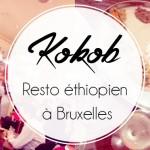 Au Kokob, restaurant éthiopien, à Bruxelles