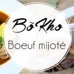 Bo kho, boeuf mijoté à la vietnamienne