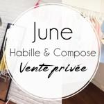 Vente privée chez June!