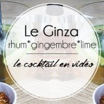 Cocktail Le Ginza – La recette en vidéo