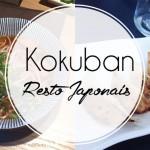 Le Kokuban – restaurant japonais, à Bruxelles
