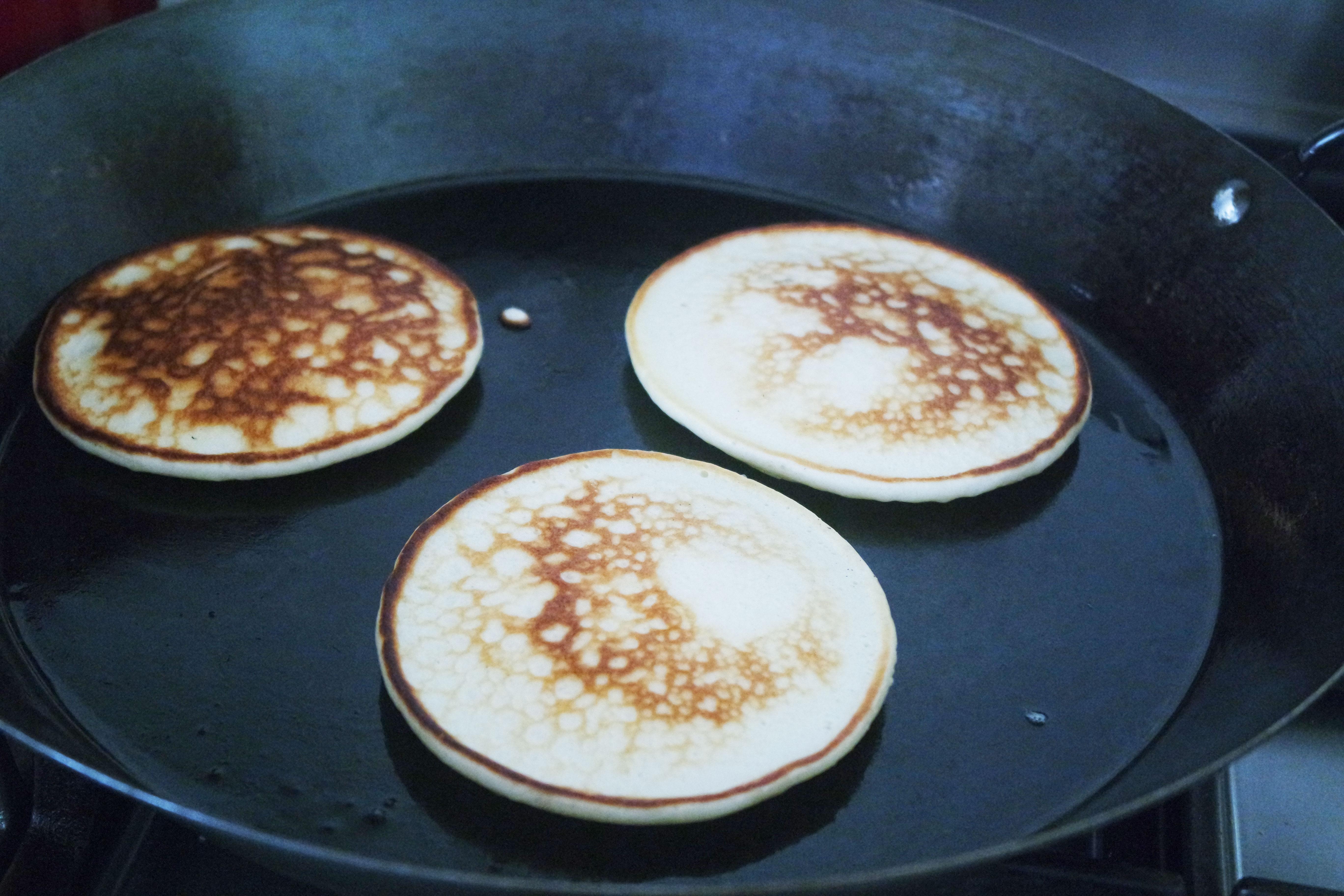 pancakes-recette-yaourt-facile