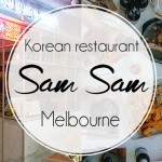 Sam Sam, korean restaurant à Melbourne