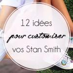 12 idées pour customiser vos Stan Smith