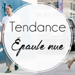 Tendance : L'épaule dénudée
