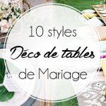 Mariage, les déco de tables qu'on adore