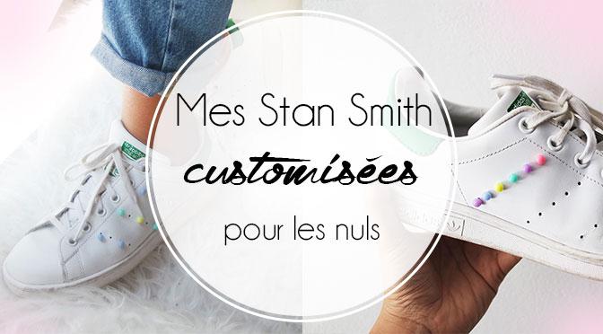 Je customise mes Stan Smith avec des perles | ElleMixe
