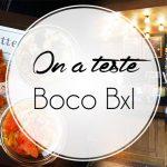 Boco, des recettes étoilées en bocal, à Bruxelles