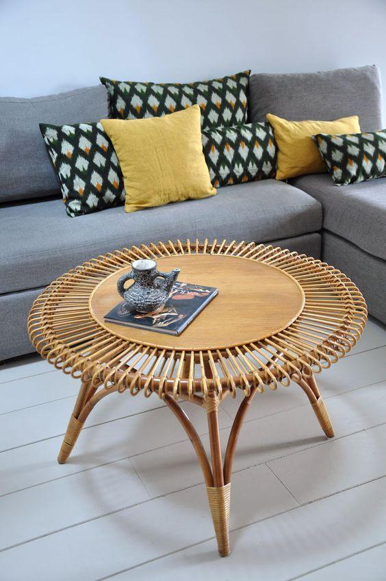 le retour du rotin ellemixe. Black Bedroom Furniture Sets. Home Design Ideas