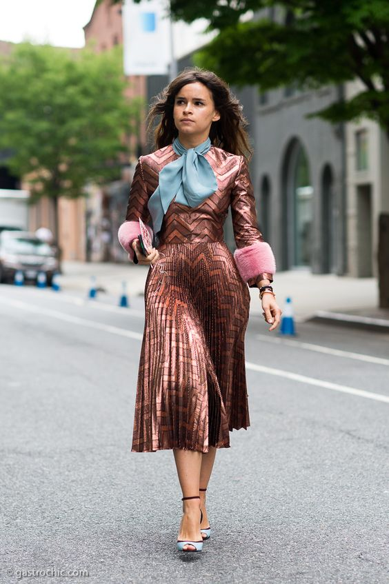 Miroslava Duma at Gucci Cruise 2016