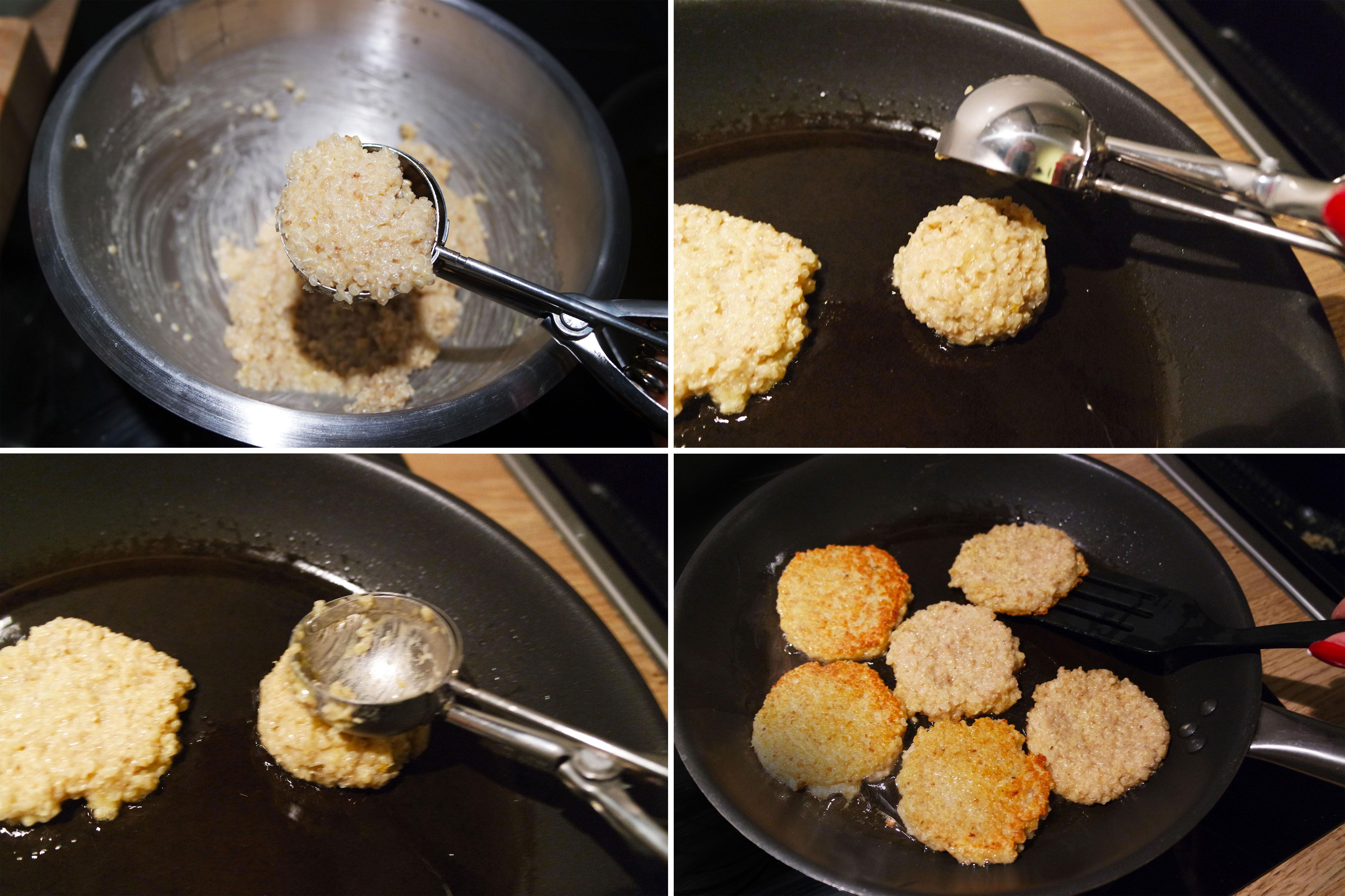 recette-facile-galette-quinoa-light-rapide-saumon-philadelphia-régime-blog-belge-curry-étapes