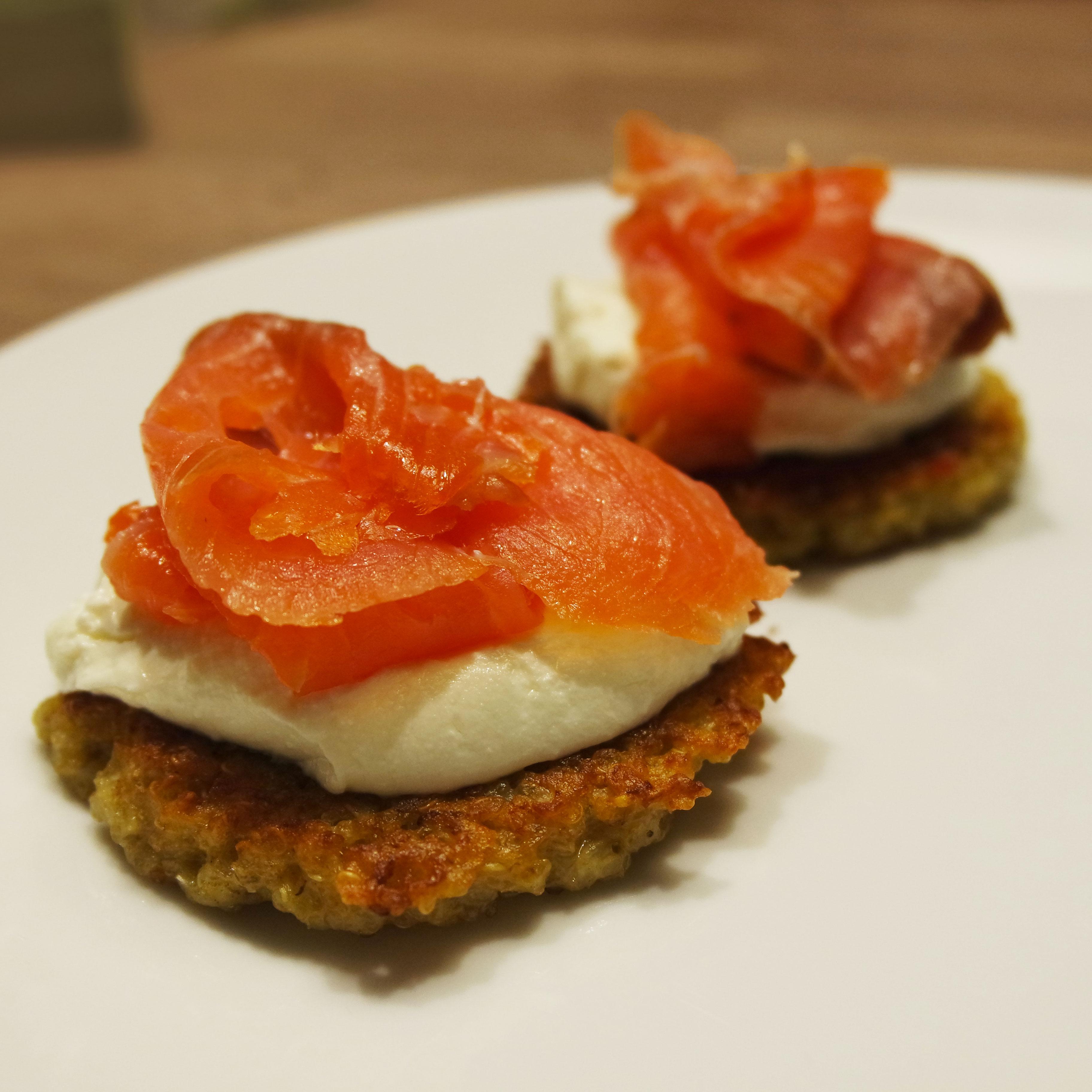 recette-facile-galette-quinoa-light-rapide-saumon-philadelphia-régime-blog-belge-salmon-brunch