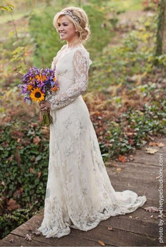 robe-mariee-celebrites-stars-wedding-dresinspiration-belle-blog-belge-kelly-clarkson