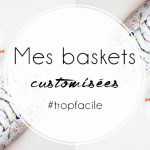 Je customise mes baskets blanches avec du vernis
