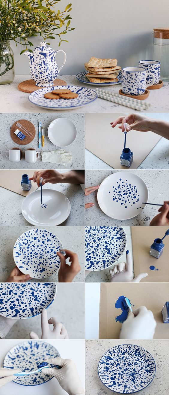assiette-peinture-diy-customiser-facile-decoration-maison-noel-fetes-blog-blue