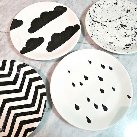 assiette-peinture-diy-customiser-facile-decoration-maison-noel-fetes-blog-pluie