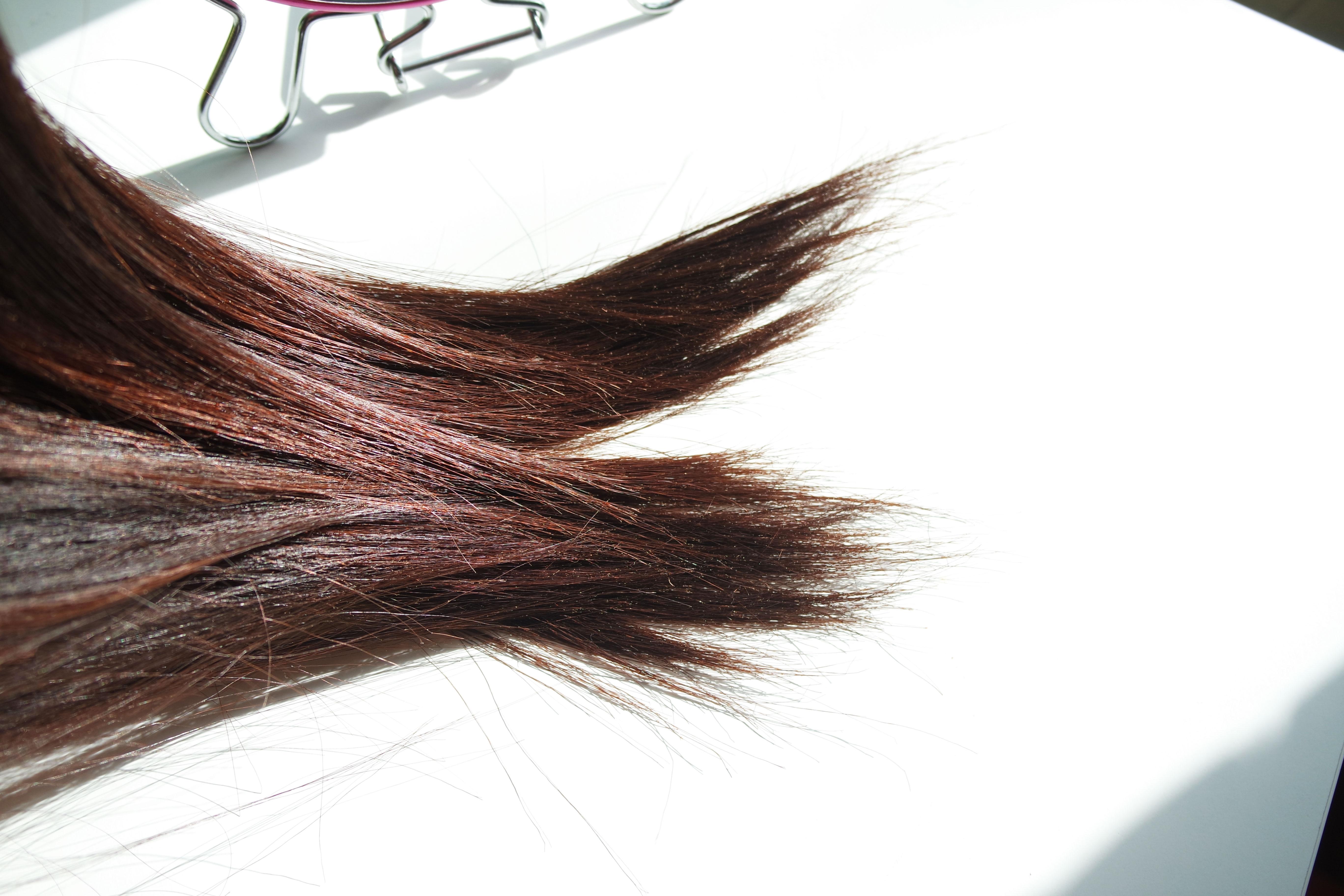 Coloration Casting Creme Gloss chatain noisette, test,couleur,cheveux,l'oréal,chocolat,avant,après,foncés,brillants