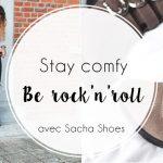 Mon look comfy rock'n'roll avec mes boots Sacha Shoes