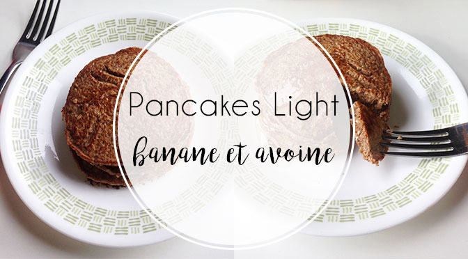 r gime ma recette de pancakes banane flocons d 39 avoine. Black Bedroom Furniture Sets. Home Design Ideas