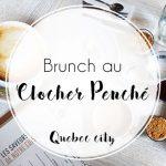 Le meilleur brunch à Quebec city, au Clocher penché