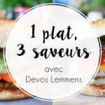 1 plat, 3 saveurs : Mes burgers avec Devos Lemmens