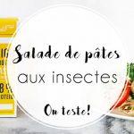 Recette : Salade de pâtes aux insectes Jimini's