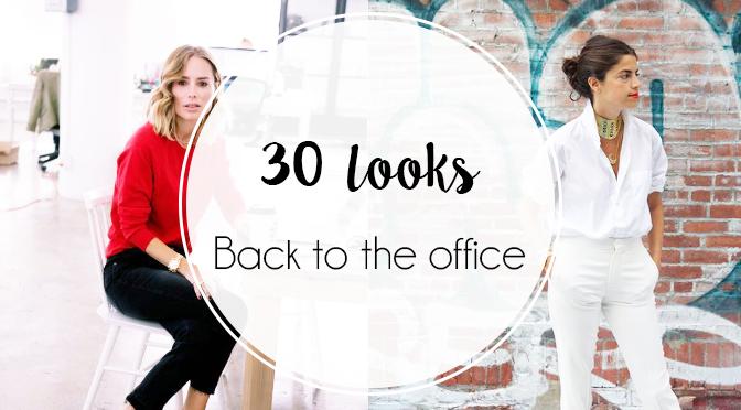 Façons de s habiller pour retourner au bureau et ne pas