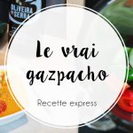 Gazpacho express, au blender