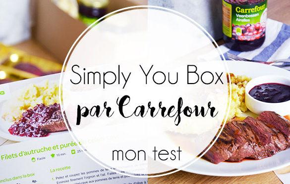 Carrefour-simply-you-box-recettes-maison-livré-domicile-ingrédients-frais-sain-régime-réquilibrage-test-avis-blog-belge-cuisine-manger-belgique-belgium-fresh