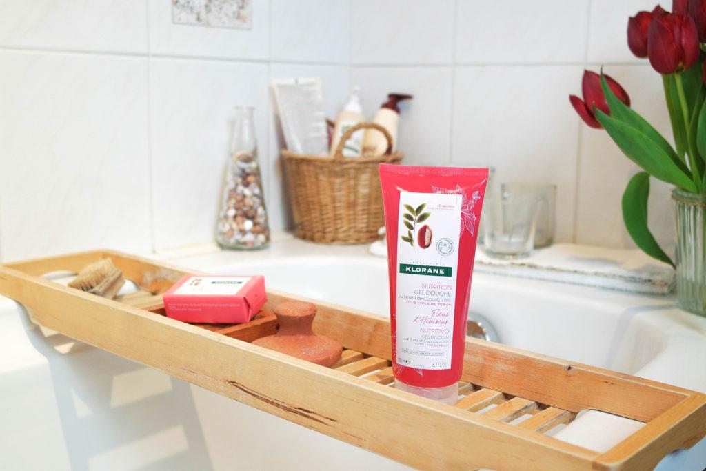 ellemixe-klorane-soin-beauté-nutrition-cupuaçu-gel-douche