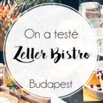 Le Zeller bistro à Budapest
