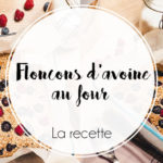 Flocons d'avoine au four aux fruits rouges