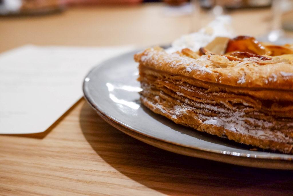 La Belle Assiette - Tarte feuilletée aux pommes