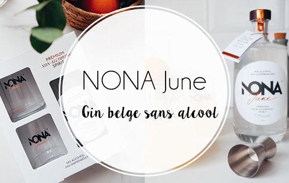 Giftbox NONA June, Gin belge sans alcool