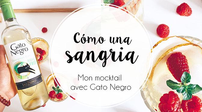 Mon mocktail au Gato Negro Sauvignon Blanc 0%
